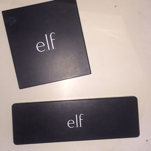 Elf eyeshadow and foundation pallets